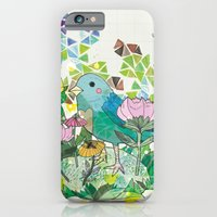 iPhone & iPod Case featuring Little Bird by Jo Cheung Illustration