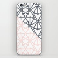 Black and Pink Crop Symmetry iPhone & iPod Skin