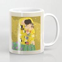 The Kiss (Lovers) by Gustav Klimt  Mug