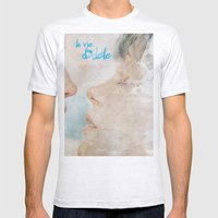 La vie d'Adele, movie poster - chapter two - alternative playbill Mens Fitted Tee Ash Grey SMALL