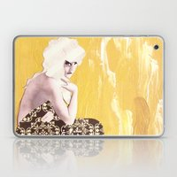 Victorian Yellow Laptop & iPad Skin