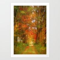 the way to paradise Art Print