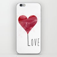 MY LOVE iPhone & iPod Skin