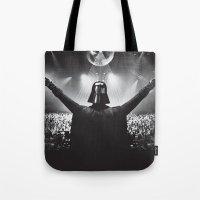 Darth Vader Rocks The Pa… Tote Bag
