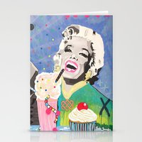 Marilyn vs James D Stationery Cards