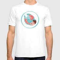 Thirsty Mens Fitted Tee White SMALL