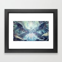 [Don't] Cover Your Eyes. Framed Art Print