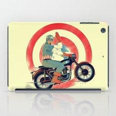 Cap Ride. iPad Case