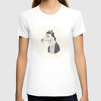 BoJack  Womens Fitted Tee White SMALL