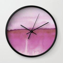 Wall Clock - Abstract Landscape 88 - Georgiana Paraschiv