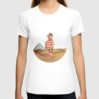 Sandcastles Womens Fitted Tee White SMALL