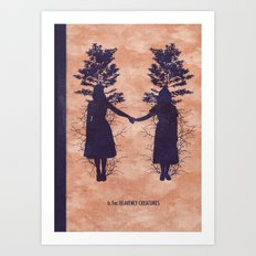 H is for Heavenly Creatures Art Print