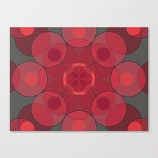 Circle Star 4x8 Canvas Print