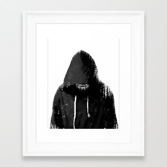 21st Century Death Framed Art Print