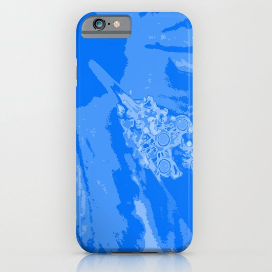 Intimate blue iPhone & iPod Case
