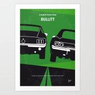 No214 My BULLITT Minimal… Art Print