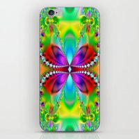 Abstract Jewel Butterfly… iPhone & iPod Skin