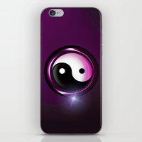 yin and yang iPhone & iPod Skin
