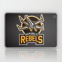 Republic Rebels - Black Laptop & iPad Skin