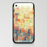 iPhone & iPod Skin featuring Cubism Dream (Brush Fire… by Jacqueline Maldonado