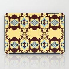 Deer Poker Theme Pattern iPad Case