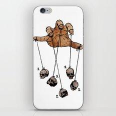 The Five Dancing Skulls Of Doom iPhone & iPod Skin