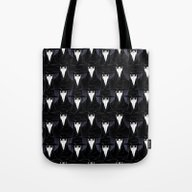Rows Of Beaks Tote Bag