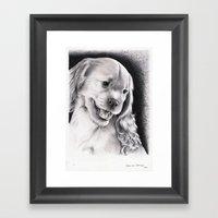 PUPPY - CACHORRO Framed Art Print