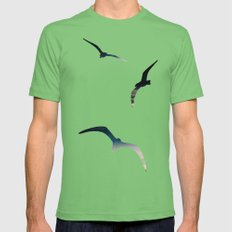 High  Mens Fitted Tee Grass SMALL