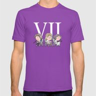 Oldies Mens Fitted Tee Ultraviolet SMALL