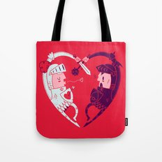 All Is Fair In Love And War Tote Bag