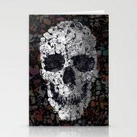 Doodle Skull Stationery Cards