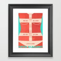 The Fifth Element Leeloo Framed Art Print