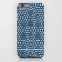 iPhone & iPod Case featuring blue hex by Vy La