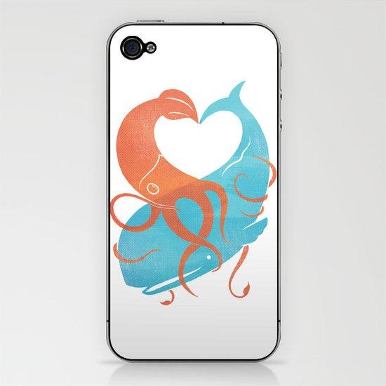 Hug It Out iPhone & iPod Skin