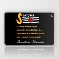 What Is Sanyas? Laptop & iPad Skin