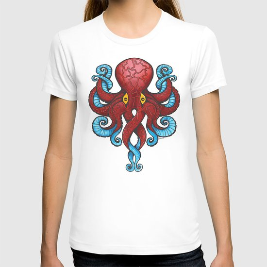 Red Dectopus T-shirt