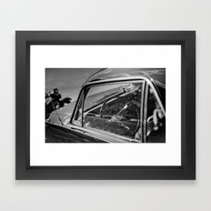 Car Cockpit 01 Framed Art Print