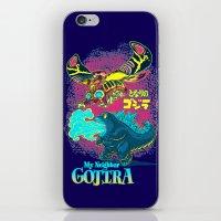 MY NEIGHBOR GOJIRA iPhone & iPod Skin