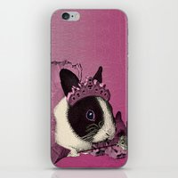 Pink Bunny Princess Prin… iPhone & iPod Skin