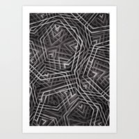 Di-simetrías 3 Art Print