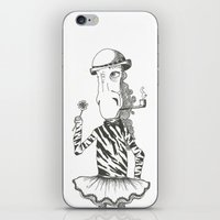 Like a little girl iPhone & iPod Skin