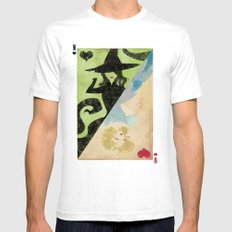 Wicked Mens Fitted Tee SMALL White