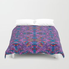 A Night To Remember Kaleidoscope Duvet Cover