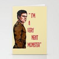 Dexter Morgan  B&W Stationery Cards