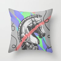 Stay? Throw Pillow