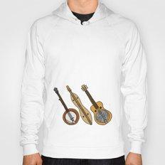 Banjo, Dulcimer, Resonator Hoody