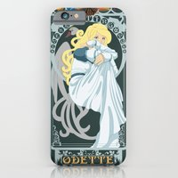 iPhone & iPod Case featuring Odette Nouveau - Swan Princess by CaptainLaserBeam