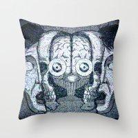 Expand your mind Throw Pillow