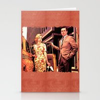 Betty & Don Draper from Mad Men - Painting Style Stationery Cards
